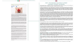 EVA™, the painless solution to treat feminine intimate disorders