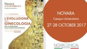 Eva in Novara for the Gynecology Evolution congress