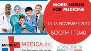 Novaclinical @ Medica Düsseldorf Germany 2017