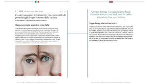 Oxygen therapy is a regenerating facial treatment