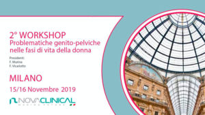 2^ Workshop Pelvic genital problems in women's life phases.