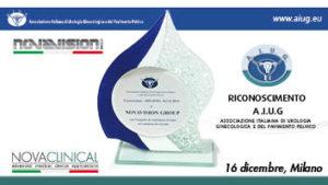 RICONOSCIMENTO A.I.U.G - Associazione Italiana di Urologia Ginecologica e del Pavimento Pelvico