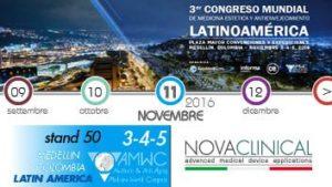 Novaclinical all'AMWC Latin America