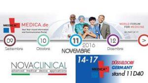 Novaclinical a Medica Düsseldorf Germany 2016