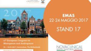 Novaclinical all'EMAS ad AMSTERDAM