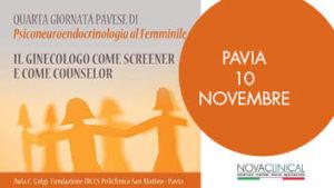 Novaclinical alla quarta giornata pavese di Psiconeuroendocrinologia al Femminile