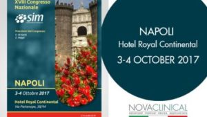 Novaclinical on 3rd and 4th of October in NAPLES