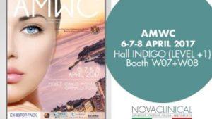 Novaclinical all'AMWC MONTE-CARLO, MONACO