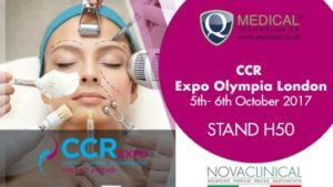 Novaclinical at CCR Expo Olympia London