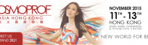 Novaclinical @ Cosmoprof Asia – Hong Kong 2015