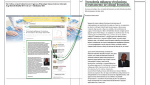 TECNOLOGIA MILANESE... leggi l'intervista sul corriere.it
