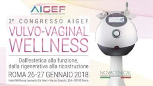NOVACLINICAL @AIGEF 2018 - VULVO-VAGINAL WELLNESS