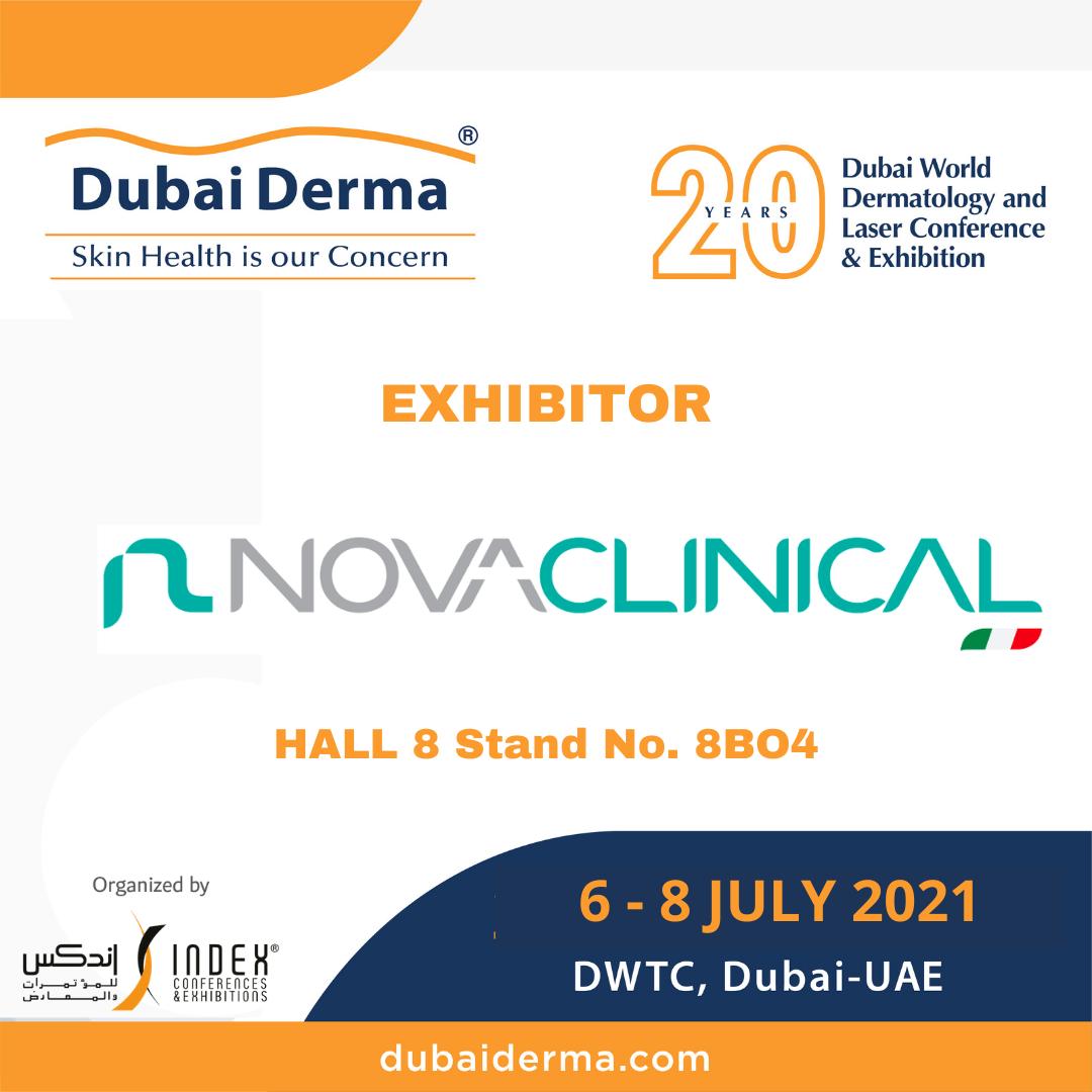 Novaclinical Dubai Derma 2021
